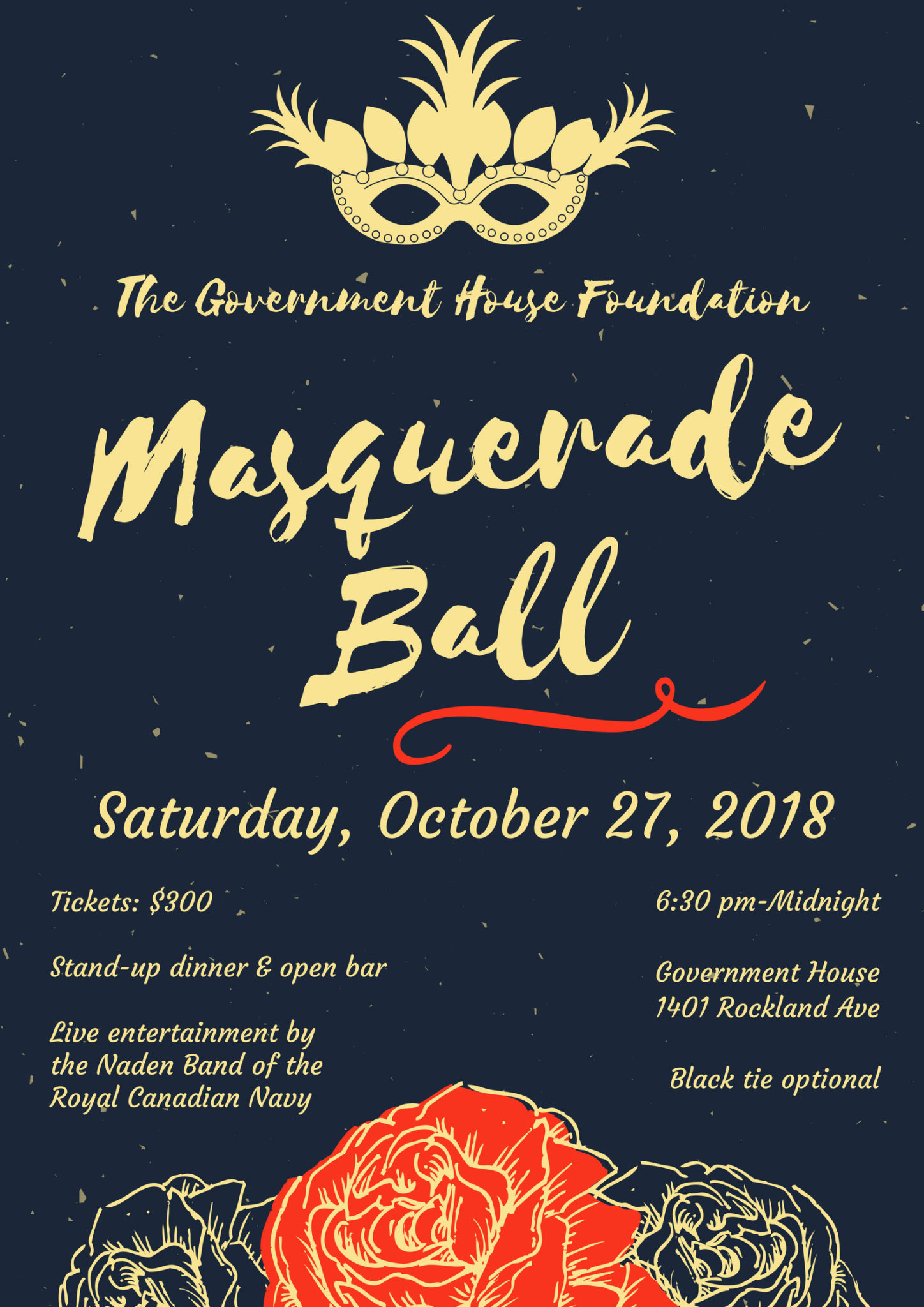 4984b30bf7 We are most pleased to extend an invitation to the Government House  Foundation Gala Ball